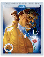 Disney Beauty and the Beast 25th Anniversary Edition Blu-ray Combo Pack