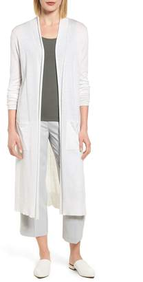 Nic+Zoe Traveler Cotton Cashmere Duster Cardigan