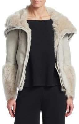 Gentry Portofino Shearling Jacket