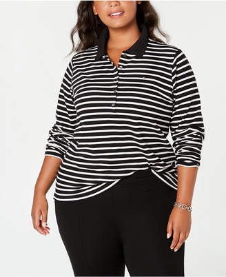 Plus Size Polo Shirts For Women Shopstyle