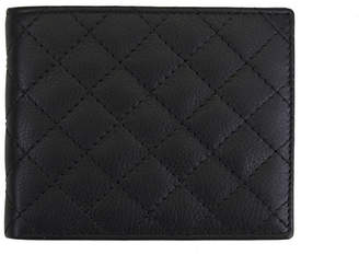 Steve Madden Quilted Leather Billfold Wallet
