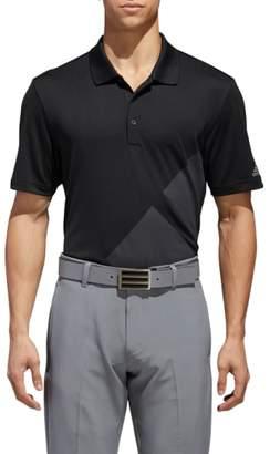 adidas GOLF 3-Stripes Regular Fit Golf Polo
