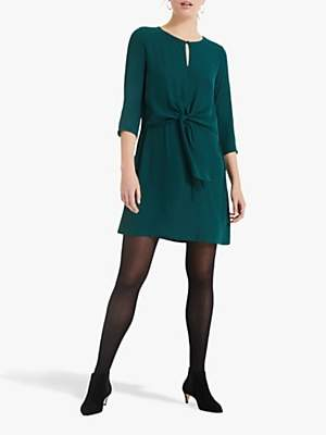 Phase Eight Christie Double Layer Dress, Green