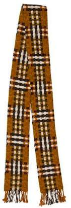 Burberry Cashmere Woven Scarf