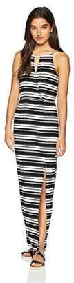 Amy Byer A. Byer Junior's Young Women's Teen Halter Style Blouson Dress