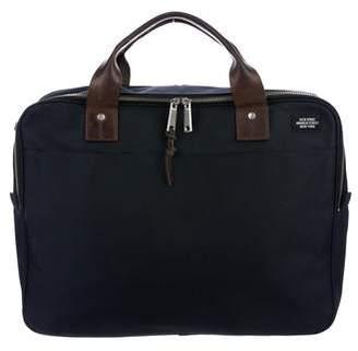 Jack Spade Canvas Slim Briefcase