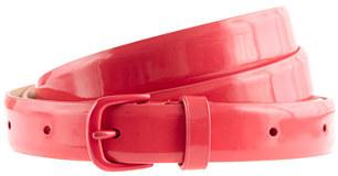 Enameled belt