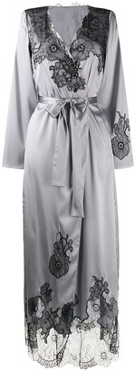 Myla Pansy Gardens long robe