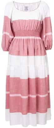 Gül Hürgel striped bell sleeve dress