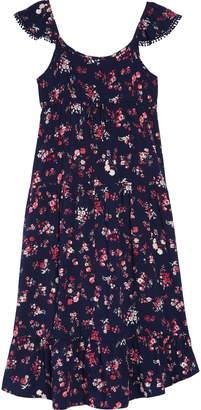 Ten Sixty Sherman Floral Ruffle Hem Dress