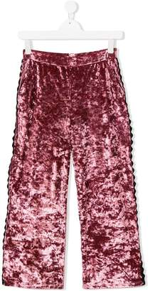 Douuod Kids TEEN velvet trousers