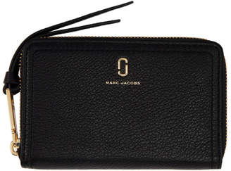 Marc Jacobs Black Small The Softshot Continental Wallet