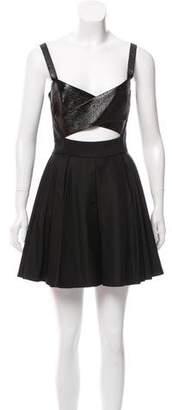 The Kooples Cutout A-Line Dress