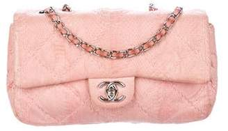 Chanel Ultimate Stitch Python Flap Bag