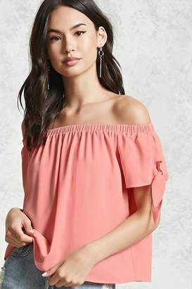 Forever 21 Contemporary Crepe Woven Top