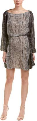 Halston Silk Shift Dress
