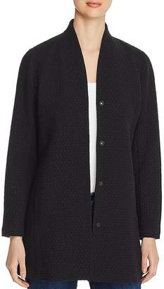 Eileen Fisher Snap-Front Jacket