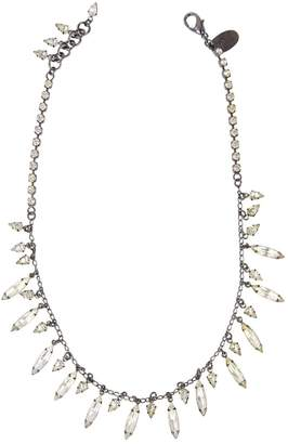 Erickson Beamon Anthracite Metal Necklace