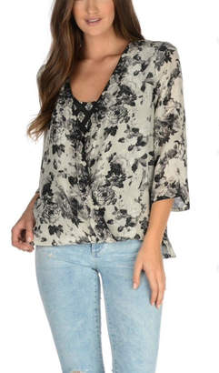 Tolani Christelle Crossover Blouse
