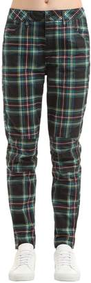 Elwood Royal Tartan Print Denim Jeans