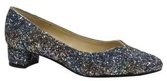 J. Renee J. Rene? 'Bambalina' Block Heel Glitter Pump (Women)