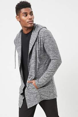 Forever 21 Marled Hooded Cardigan