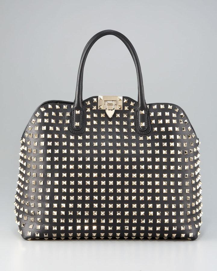 Valentino Rockstud Dome Bag