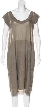 Kristensen Du Nord Short Sleeve Midi Dress