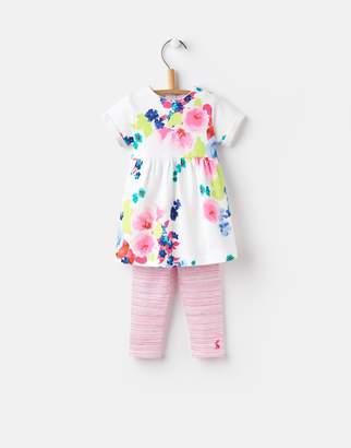 Joules Clothing 124741 Baby Girls Dress And Legging Set
