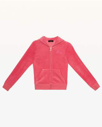 Juicy Couture Ultra Luxe Velour Robertson Jacket for Girls