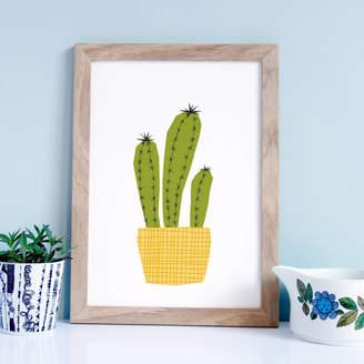 YOYO Studio Cactus Illustration, Plant Print