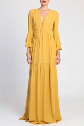 Badgley Mischka 3/4 Sleeve Dress