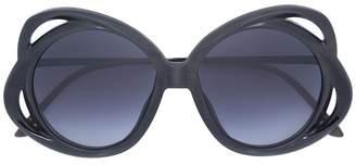 Rigards oversized round sunglasses