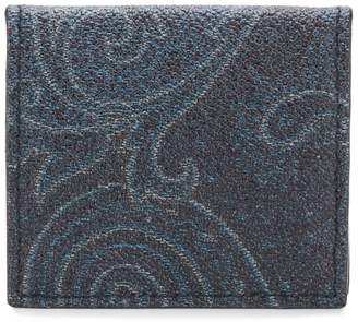 Etro graphic wallet