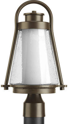 Alcott Hill Triplehorn 1-Light Contemporary Lantern Head in Bronze