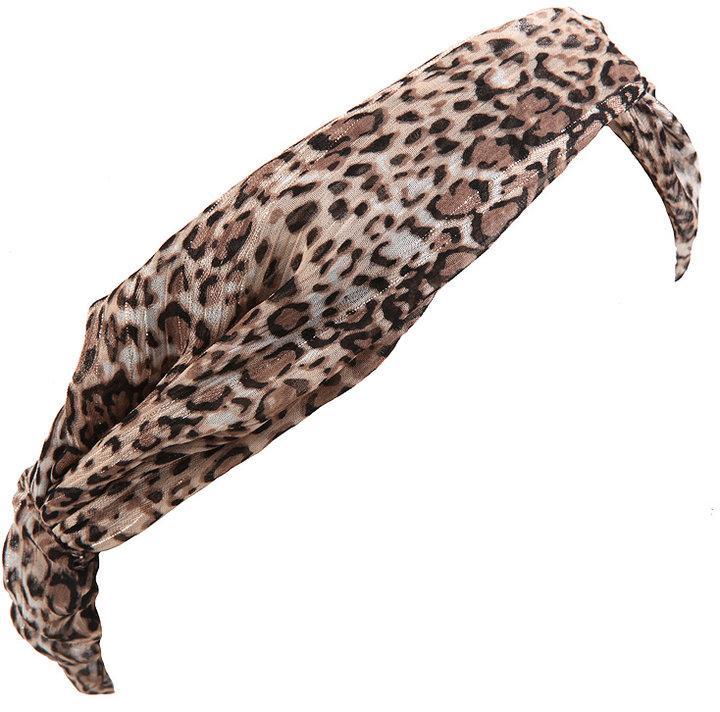 Leopard Turban Headwrap
