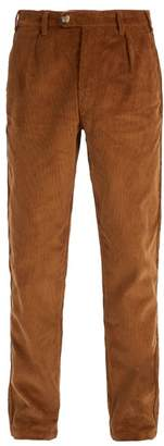 Éditions M.R editions M.r - Mickael Cotton Corduroy Trousers - Mens - Tan