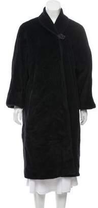 Max Mara Alpaca Virgin Wool Coat