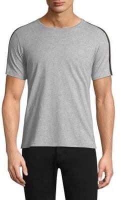 The Kooples Stripe Epaulette T-Shirt
