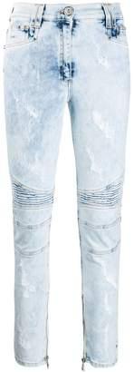 Balmain acid-wash jeans