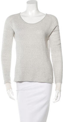 Inhabit Cashmere-Blend Textured Sweater $95 thestylecure.com