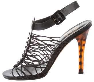 Versace Multistrap High-Heel Sandals