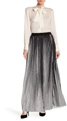 Haute Rogue Pleated Maxi Skirt
