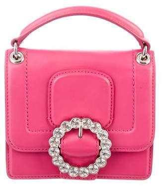 Marc by Marc Jacobs Crystal-Embellished Leather Bag