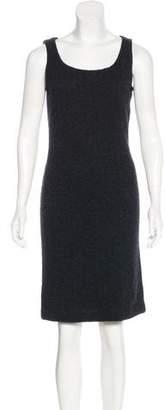 Ralph Lauren Black Label Cashmere-Blend Knee-Length Dress