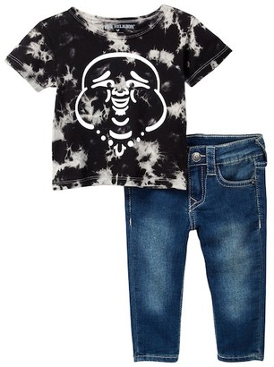 True Religion Buddha Tee & Jean Set (Baby Boys) $79 thestylecure.com