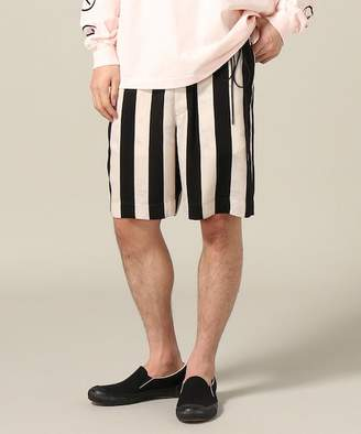 Miharayasuhiro JOINT WORKS FIT Flower Stripe Shorts