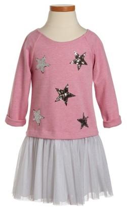 Toddler Girl's Pippa & Julie Sequin Star Tutu Dress $48 thestylecure.com