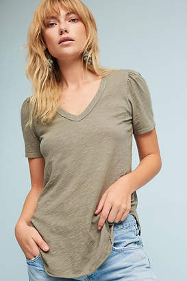 Left Of Center Outfield V-Neck Tee $58 thestylecure.com