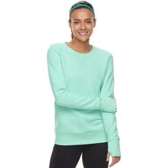 Tek Gear Women's Crewneck Thumb Hole Sweatshirt